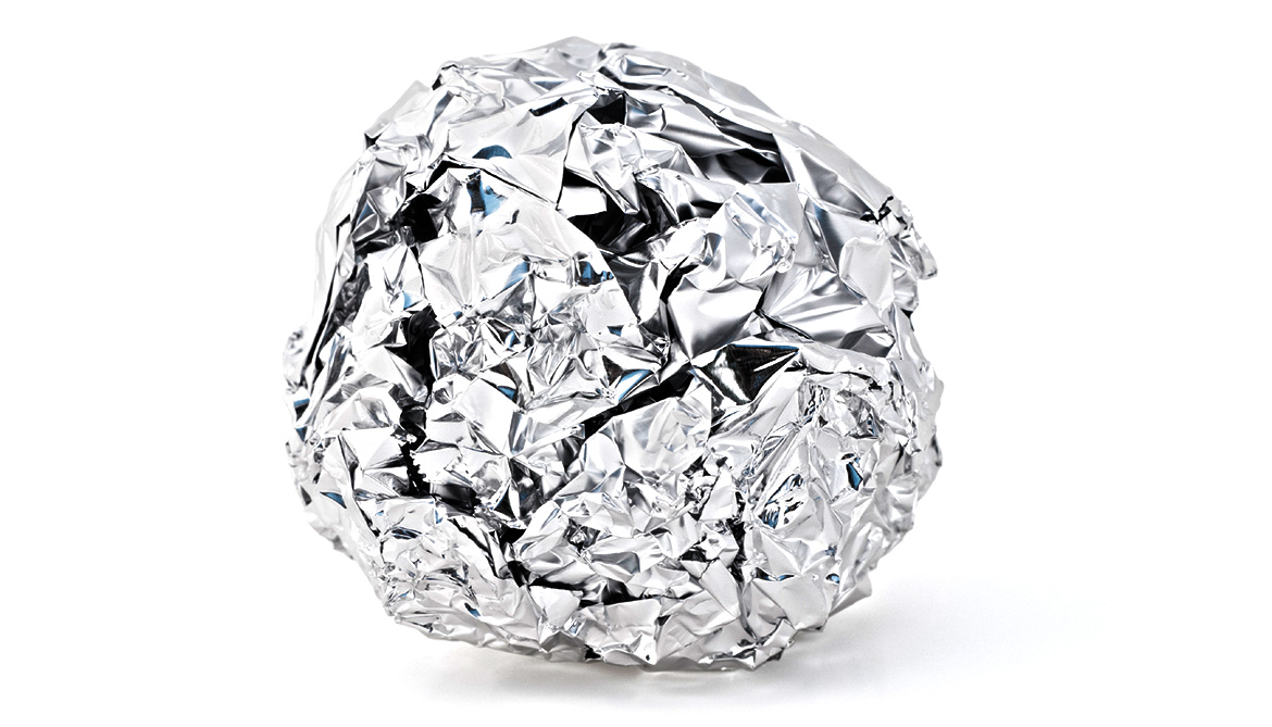 foil ball dryer hack