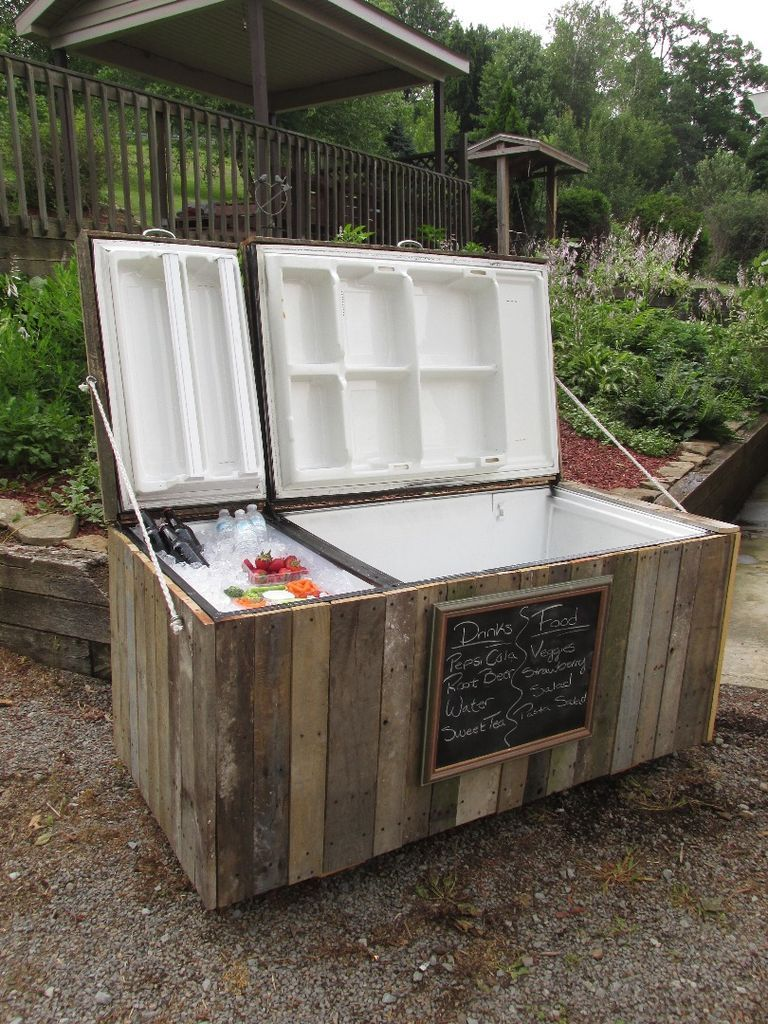 outdoor cooler burnaby fridge